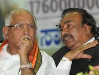 Eshwarappa says Yeddyurappa is not face of BJP