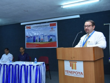 Yenepoya Institute of Technology welcomes first BE students