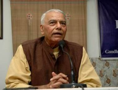 Protesting for farmers' rights, says BJP leader Yashwant Sinha