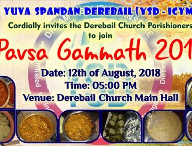 YSD - ICYM Derebail to hold 'Pavsa Gammath' on Aug 12