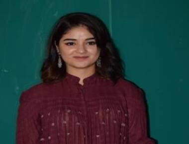 Actress Zaira Wasim complains of in-flight molestation
