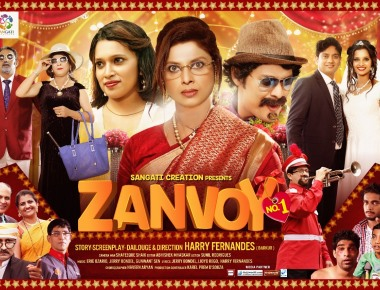 Bollywood Style Konkani Films 'Zanvoi No. 1'  is all set to release Worldwide soon