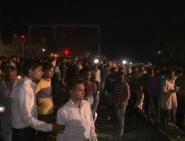 More than 50 killed as train runs over people watching 'Ravana dahan' in Amritsar