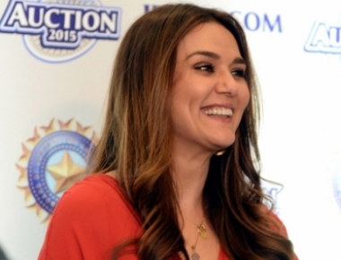 What's Preity Zinta's cardio for night?